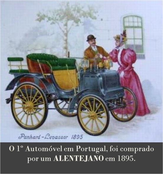 O primeiro carro de Portugal