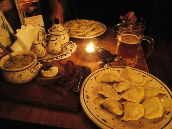 Zapiecek, you will try the best polish traditional dumplings! 32 Sławkowska St.