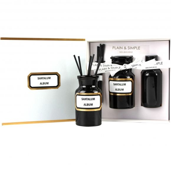 Apothecary amber glass diffuser kits. Shop now at www.hardtofind.com.au