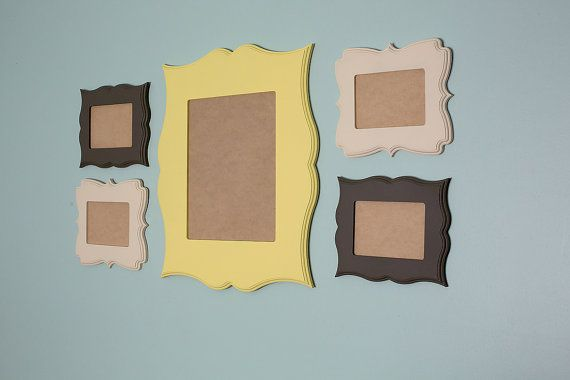 5 Piece Custom Whimsical Frame Collection