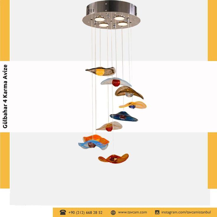 Sıcak cam tekniğiyle üretilen el yapımı Gülbahar 4 Karma Avize farklı tasarımıyla dikkat çekiyor. Kolay temizlenebilen ve solmalara, soyulmalara karşı dayanıklı olan Gülbahar 4 Karma Avize salonunuza ve diğer odalarınıza farklı bir hava katacak. Detaylı bilgi için tıklayın → https://goo.gl/03dJVp  #tavcam #tavcamavize #avize #gülbahar #karma #gülbaharavize  #glass #handmade #chandelier #colorful