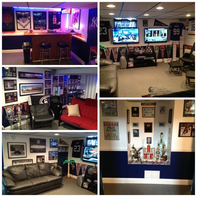 How To Create The Ultimate Man Cave: 17+ Best Images About Buffalo Bills Room & (wo)Man Cave On