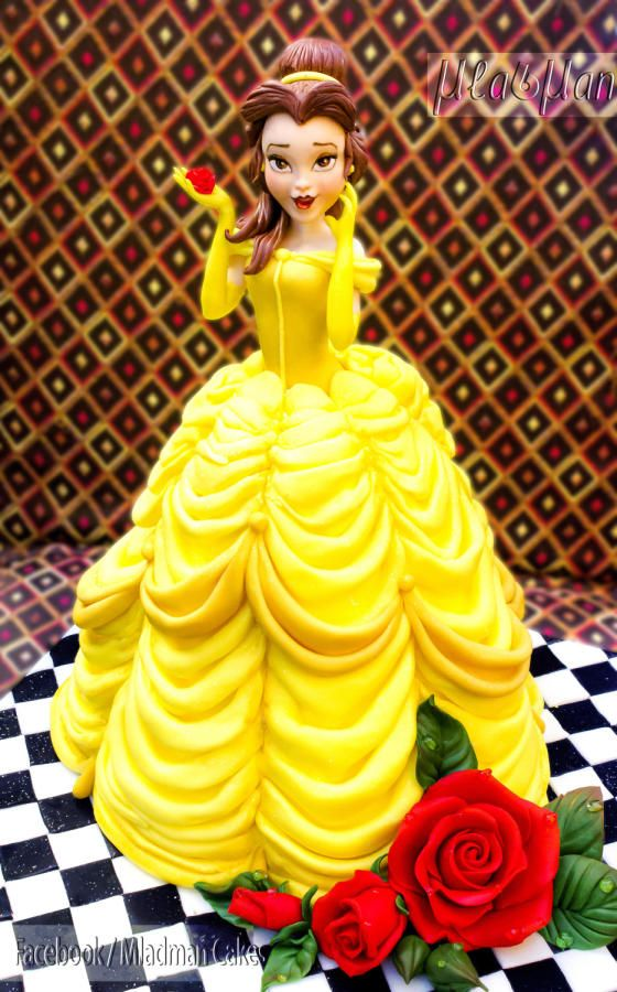 The Beauty Belle Disney Princess Cake - Cake by MLADMAN
