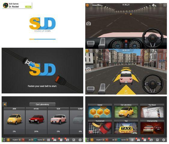 cara download game dr driving mod apk