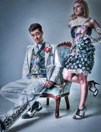 194 best Duck tape dresses images on Pinterest | Duck tape dress ...