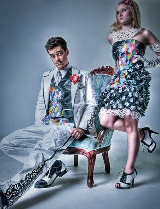 Duct Tape Dresses: A Gallery of The Prom Trend Sweeping North America : Lucky Magazine