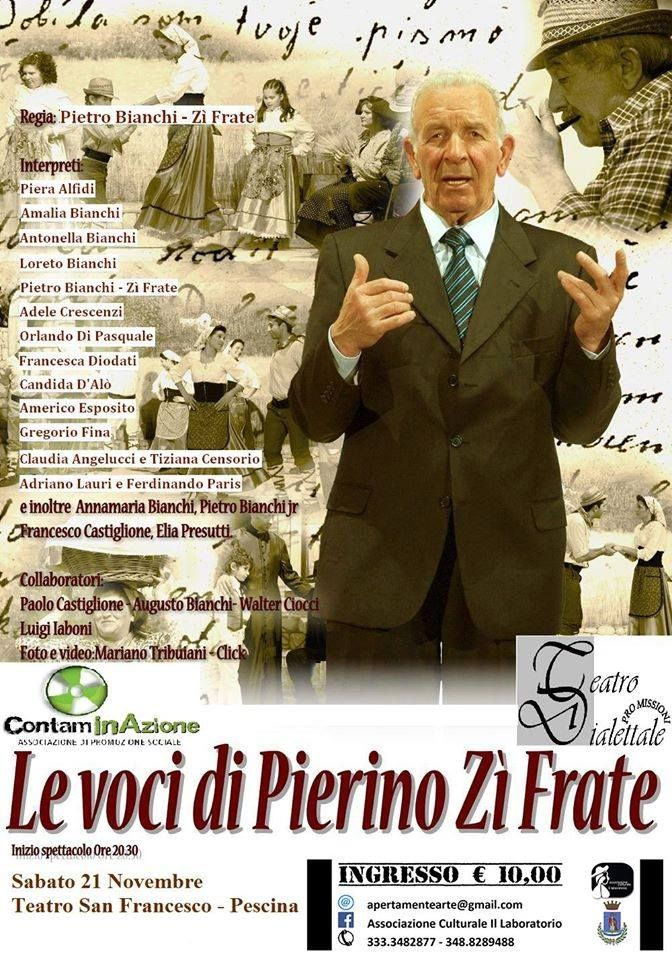 Zì Frate  Pescina  Teatro San Francesco