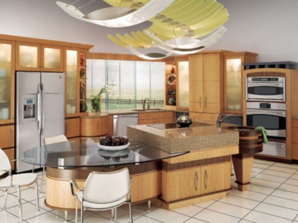 Center Island With Attached Table Kitchen Ideas Pinterest Search Islands And Tables