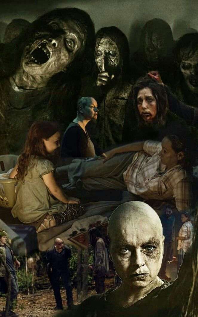 Alpha And The Whisperers Walking Dead Art Fear The Walking Dead The Walkind Dead