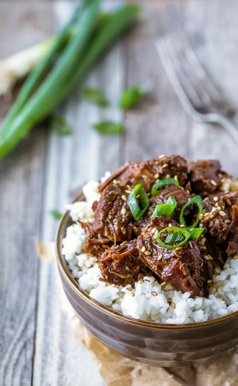 Instant Pot Korean Beef Recipe Insta Pot Comida