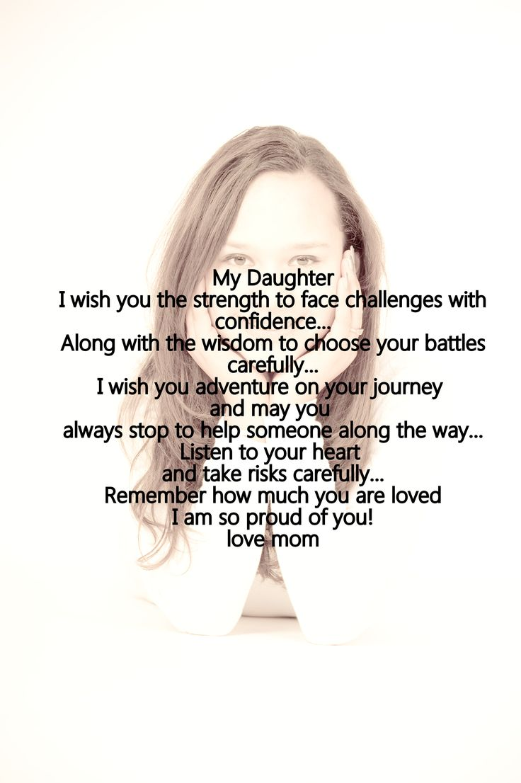Mother daughter love quote