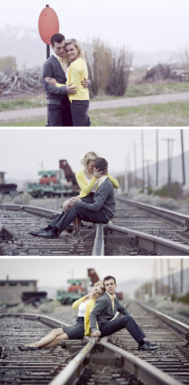 ранних правильные позиции для фото пары в поезде выставляю