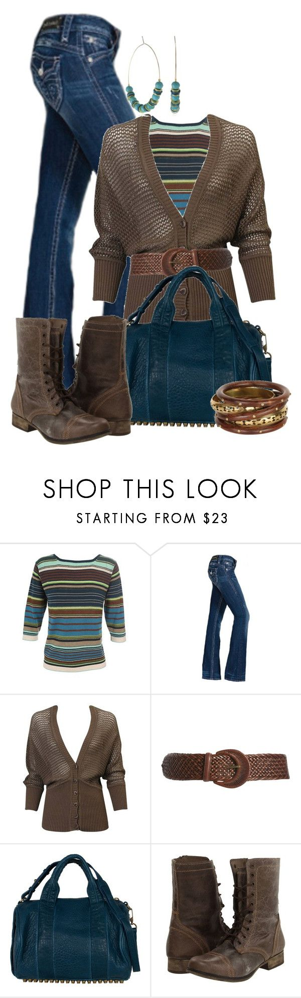 """""""Untitled #336"""" by johnna-cameron ❤ liked on Polyvore featuring Diane De Clercq, Rock Revival, Forever 21, Lauren Ralph Lauren, Steve Madden and Lulu Designs"""