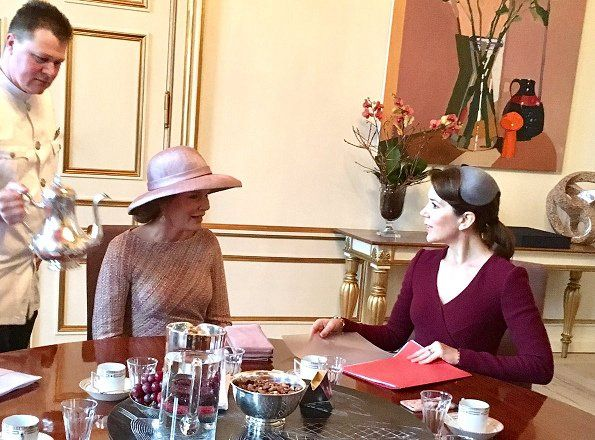 Visit of Queen Mathilde and King Philippe to Denmark