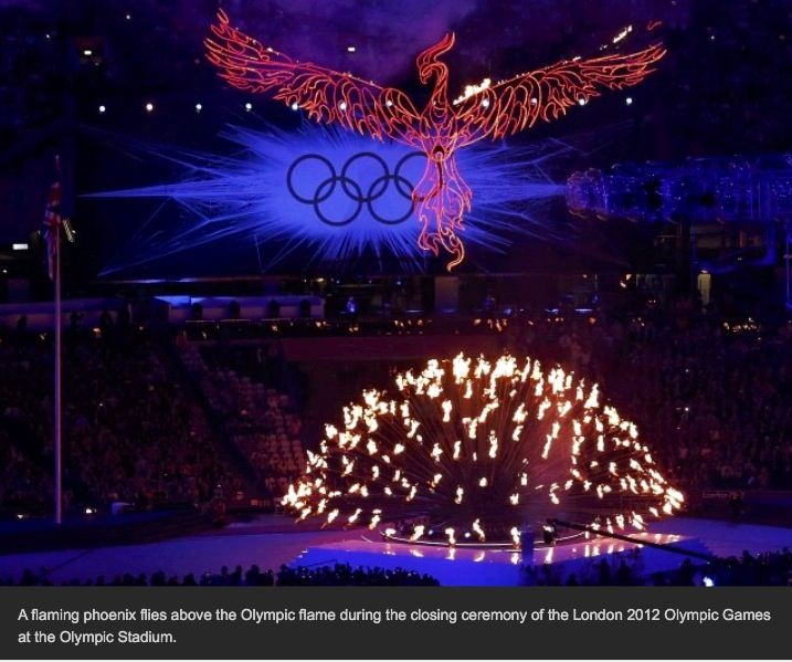 2012 London Olympic Flame Cauldron