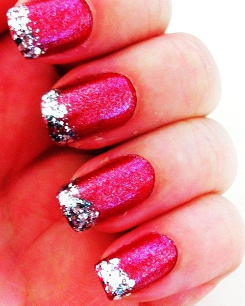 17 best Pastel Pink Christmas Nails images on Pinterest | Cute nails ...