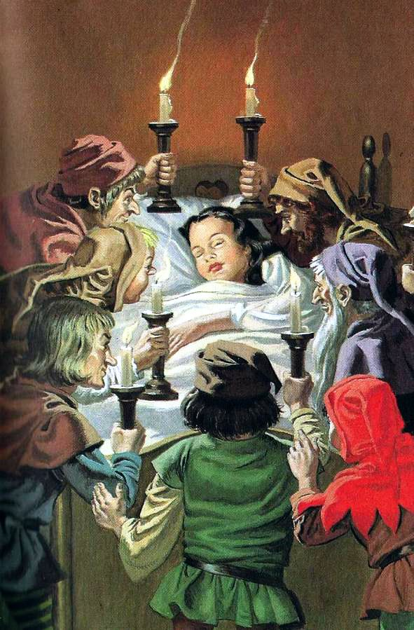 vintage Ladybird book Snow White and the Seven Dwarfs