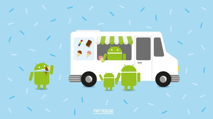 android ice cream wallpaper