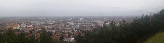 Szekszard panaroma from Kilato