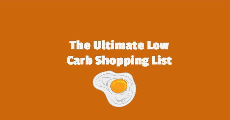 The Ultimate Low Carb Grocery Shopping List | LowCarbR.com
