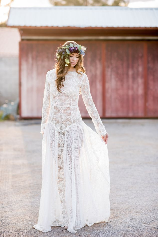 Pretty Boho Wedding Inspiration | KMH Photography | Paulina Clute Events | Bridal Musings Wedding Blog 43