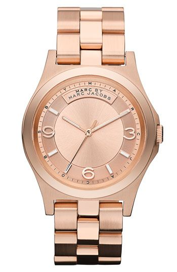 MARC BY MARC JACOBS 'Baby Dave' Bracelet Watch available at #Nordstrom