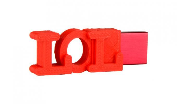lol flash drive, 3D printed