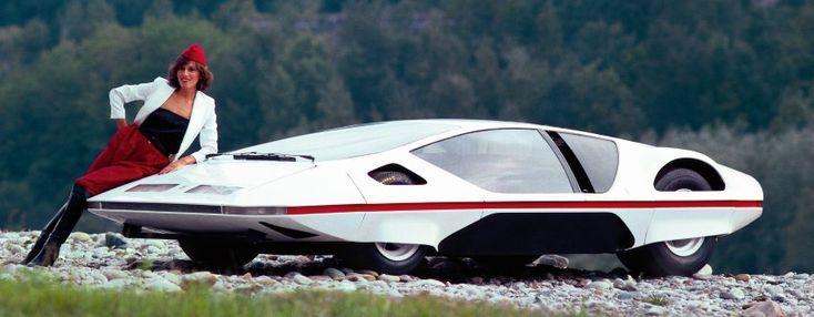 Ferrari 512 S Modulo, 1970: Die Untertasse ist gelandet - oder wie sonst soll...