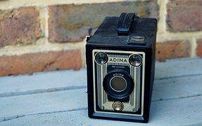 Kamera, Alte Kamera, Adina, Boxkamera