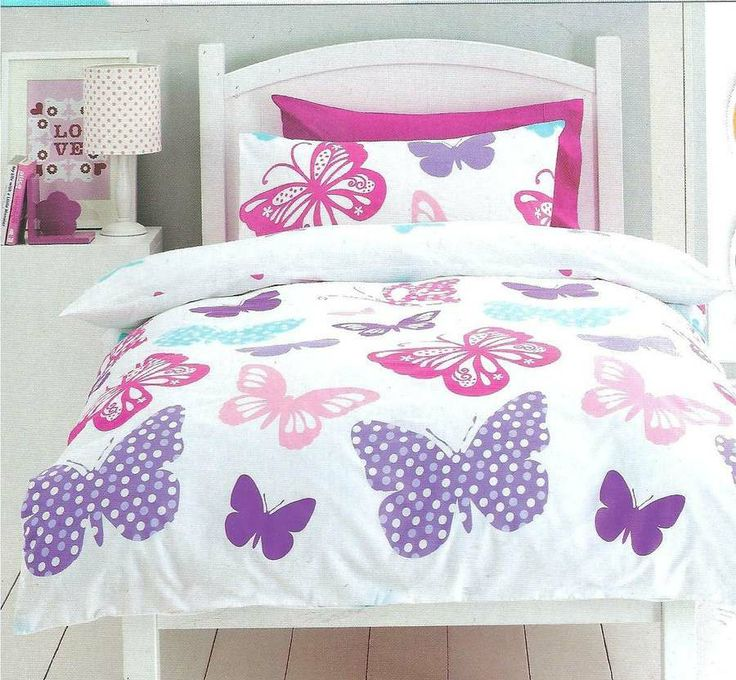 Butterfly Butterflies Single Twin Bed Quilt Doona Cover