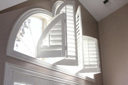 Shutters Are Great For Odd Shaped Windows Bi Fold Doors