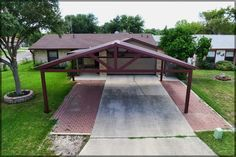metal carport | Free Standing Steel Carport - Kirby Job - San Antonio Texas