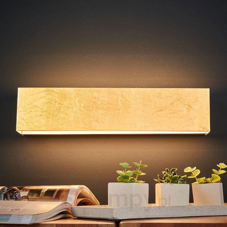 Lampa ścienna LED Kimberly w kolorze złota 9625109