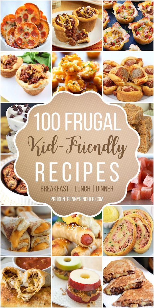 120 Frugal Kid Friendly Recipes In 2020 Kid Friendly Meals Kid Friendly Dinner Kid Friendly Appetizers