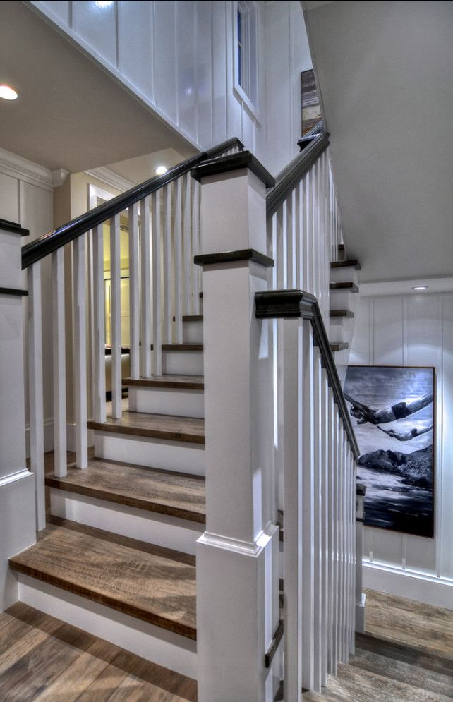 7 Best Images About Stairs On Pinterest Farmhouse Stairs