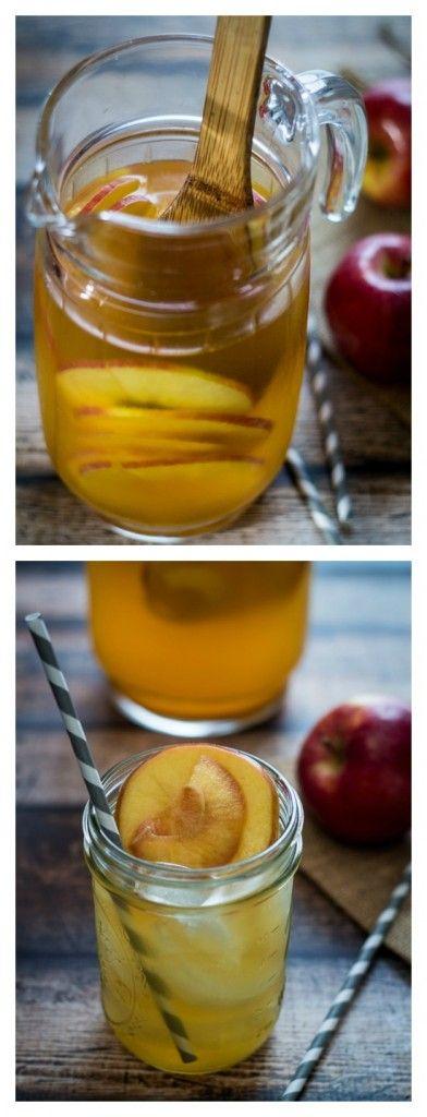 Caramel Apple Sangria - better make two batches!