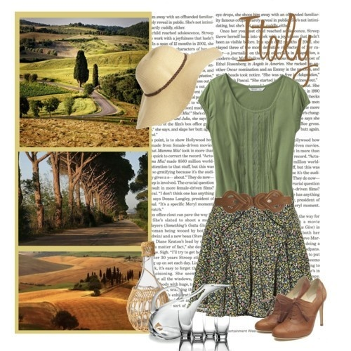 Tuscany!: Italy Trips, Inspiration, Dreams Travel, Dresses Shoes, Outfit, Beautiful Dresses, Tuscany Italy, Heels, Travel Wardrobes