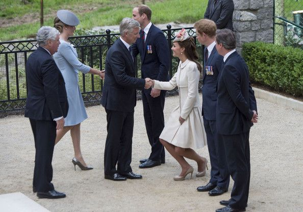 Kate Middleton Photos  - British Royals Visit the St Symphorien Military Cemetery - Zimbio