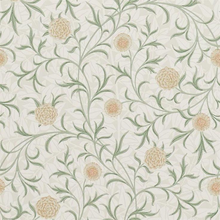 William Morris Scroll Tapet