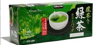 Kirkland Matcha Green Tea Bags