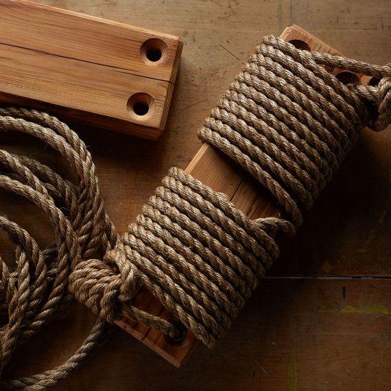 Cuerda extra para el árbol del oscilación cuerda de Manila
