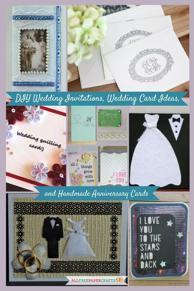 20 DIY Wedding Invitations Wedding Card Ideas