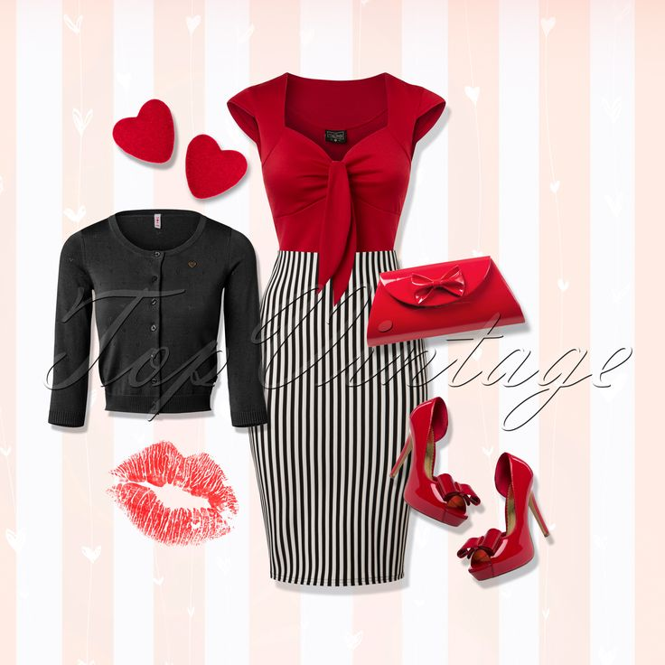 Feel like a total sweetheart when wearing this sassy look!