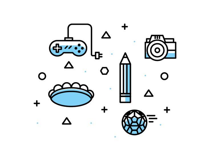 Fun icons  by  StudioJQ  #Design Popular #Dribbble #shots