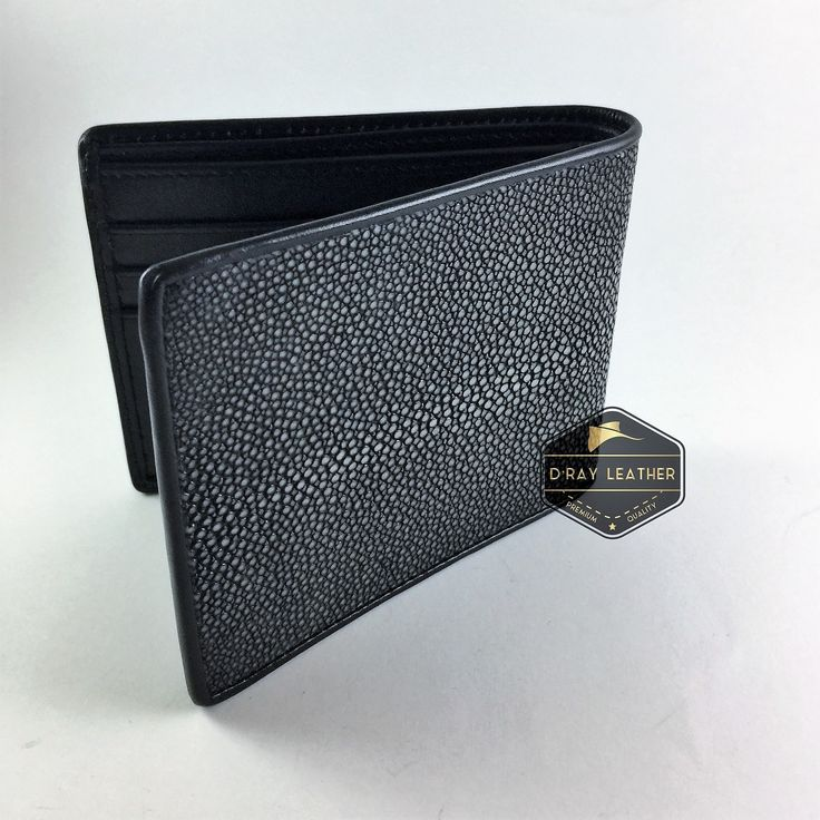 A Polished stingray wallet for men Grey Colour by @drayleather. This polished stingray wallet has a smooth texture and is finished in a striking pale grey color with black wocskin interior. This classic design of stingray wallet is the most popular. . A beautifully handmade example of a sting ray wallet with a full cow skin interior. . • Hand selected stingray skin direct from the tannery. • Hand cut leather • A grade cow skin interior • 9.5cm x 11.5cm • card holders • ID h..