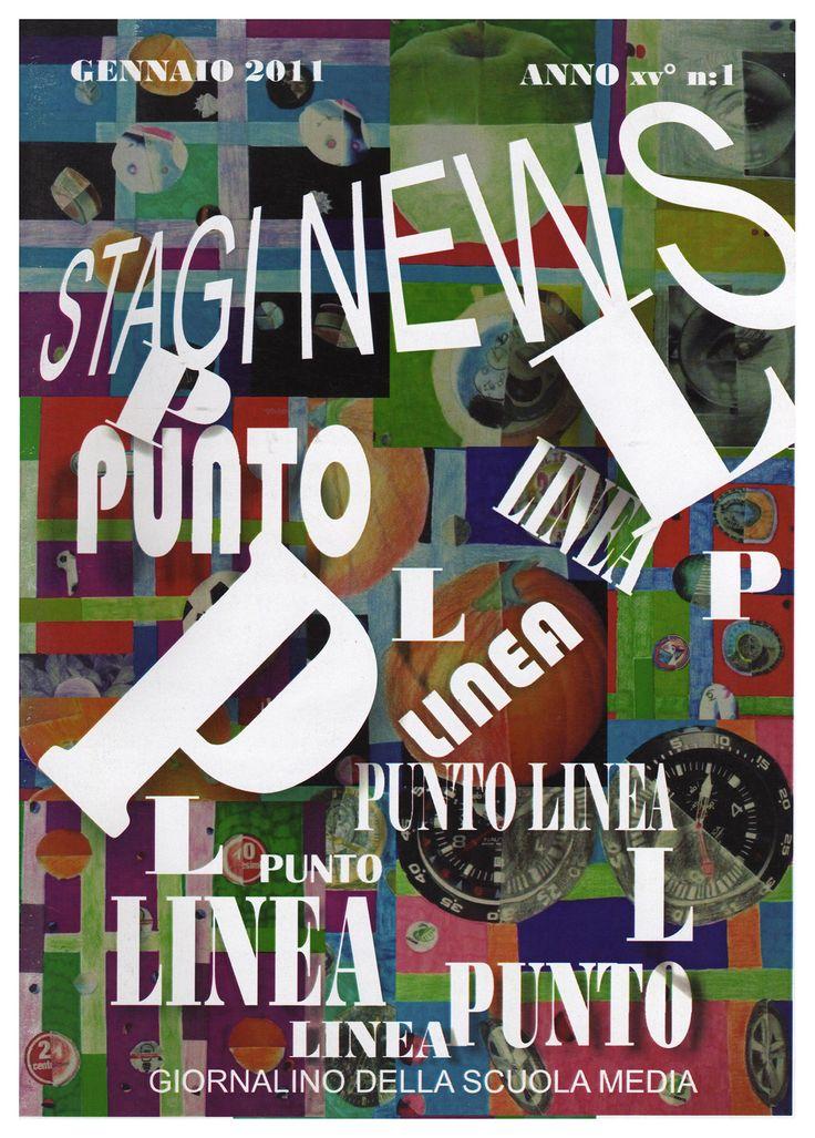 """""""Stagi News"""" - giornalino della Scuola media """"Stagio Stagi"""" di Pietrasanta, gennaio 2011, anno XVII, n.1."""