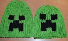 I recently was asked to make a Creeper hat.  A Creeper is a character from the game Minecraft.  I started looking for free patterns to work ...