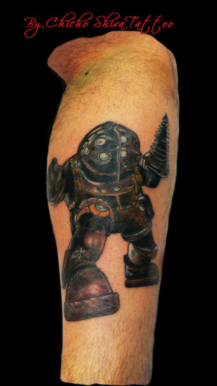 #bioshock #tattoo #BigDaddy en el gemelo