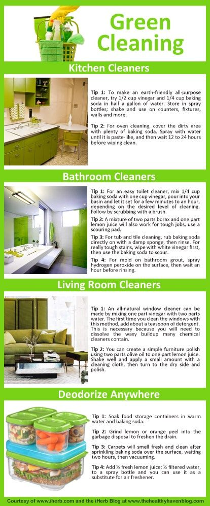 Green Cleaning Made Easy!