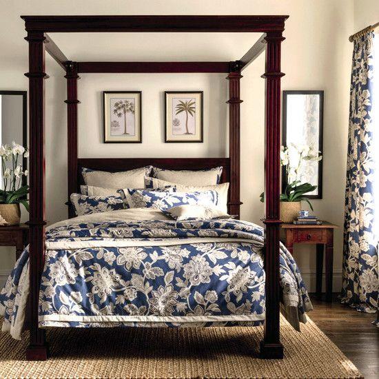 Nautical Bedding Dunelm: Blue Dorma Samira Bed Linen Collection